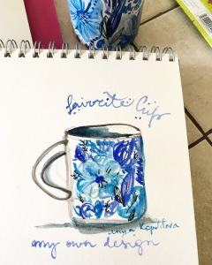 ANYA KOPOTILOVA FAVORITE CUP WATERCOLOR