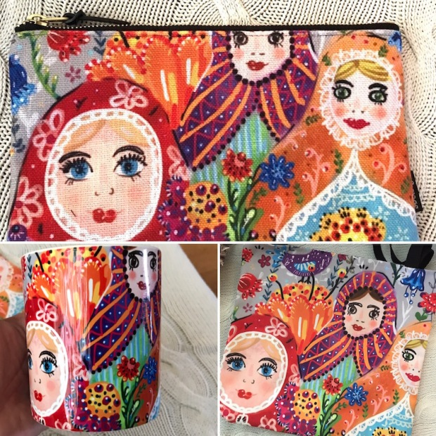 matryoshka products bag
