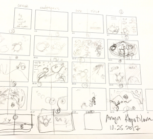 creating story boards for mats icb greenrainart