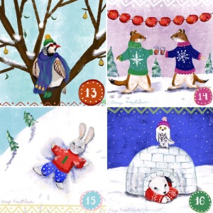 Greenrainart-advent-illustrations-13-16