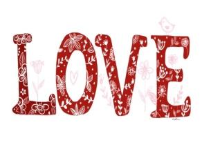 Love illustration greenrainart