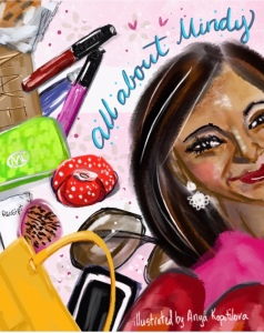 Mindy Kaling bag greenrainart